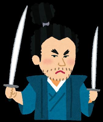 宮本武蔵、二刀流
