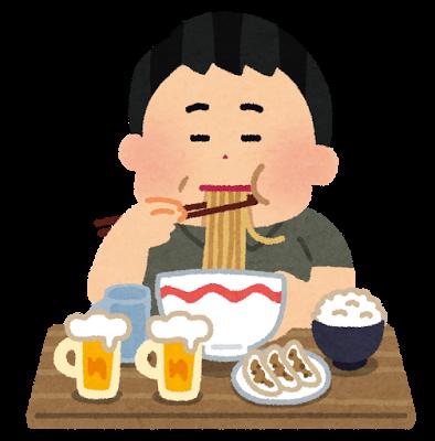 食事、食べ過ぎ