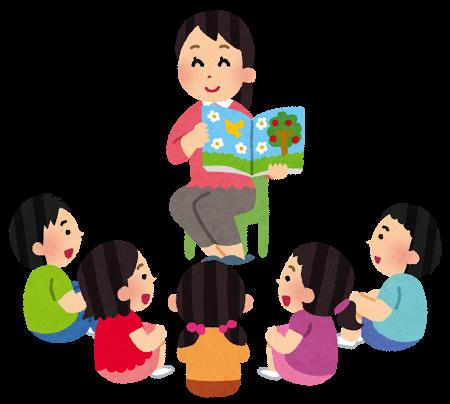 絵本、童話、読み聞かせ