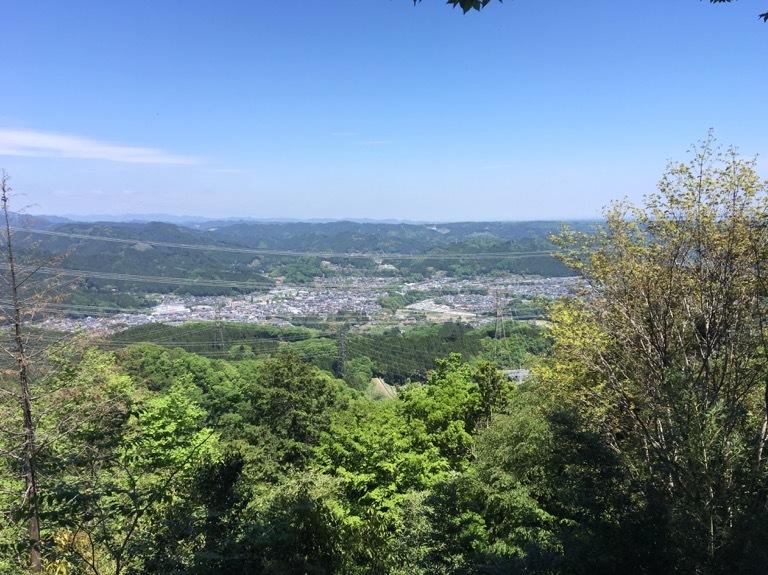 山頂の見晴らし