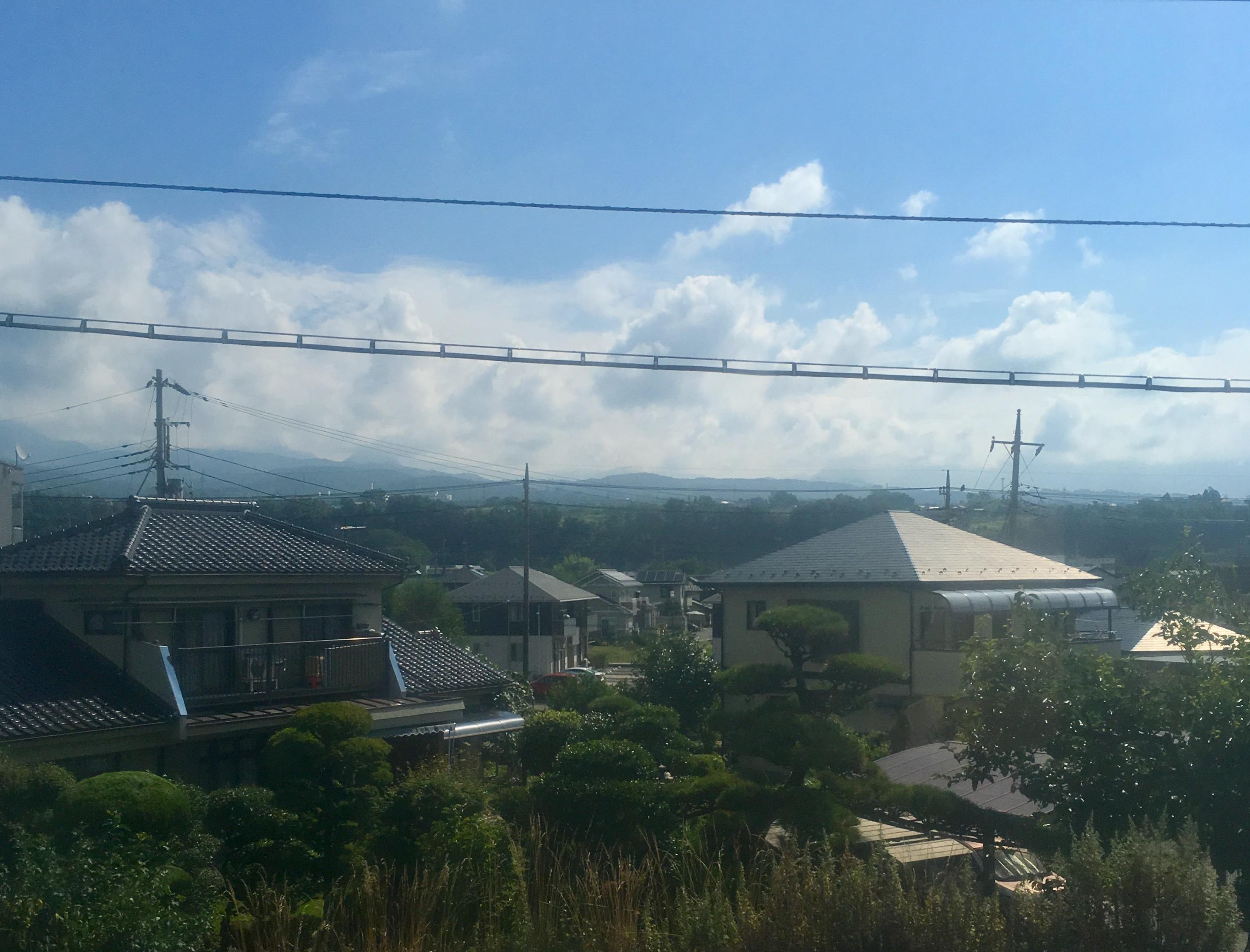 韮崎の模様