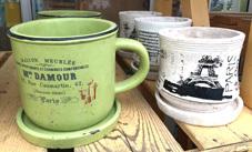 オシャレな陶器鉢