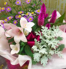 季節の花いっぱい♪