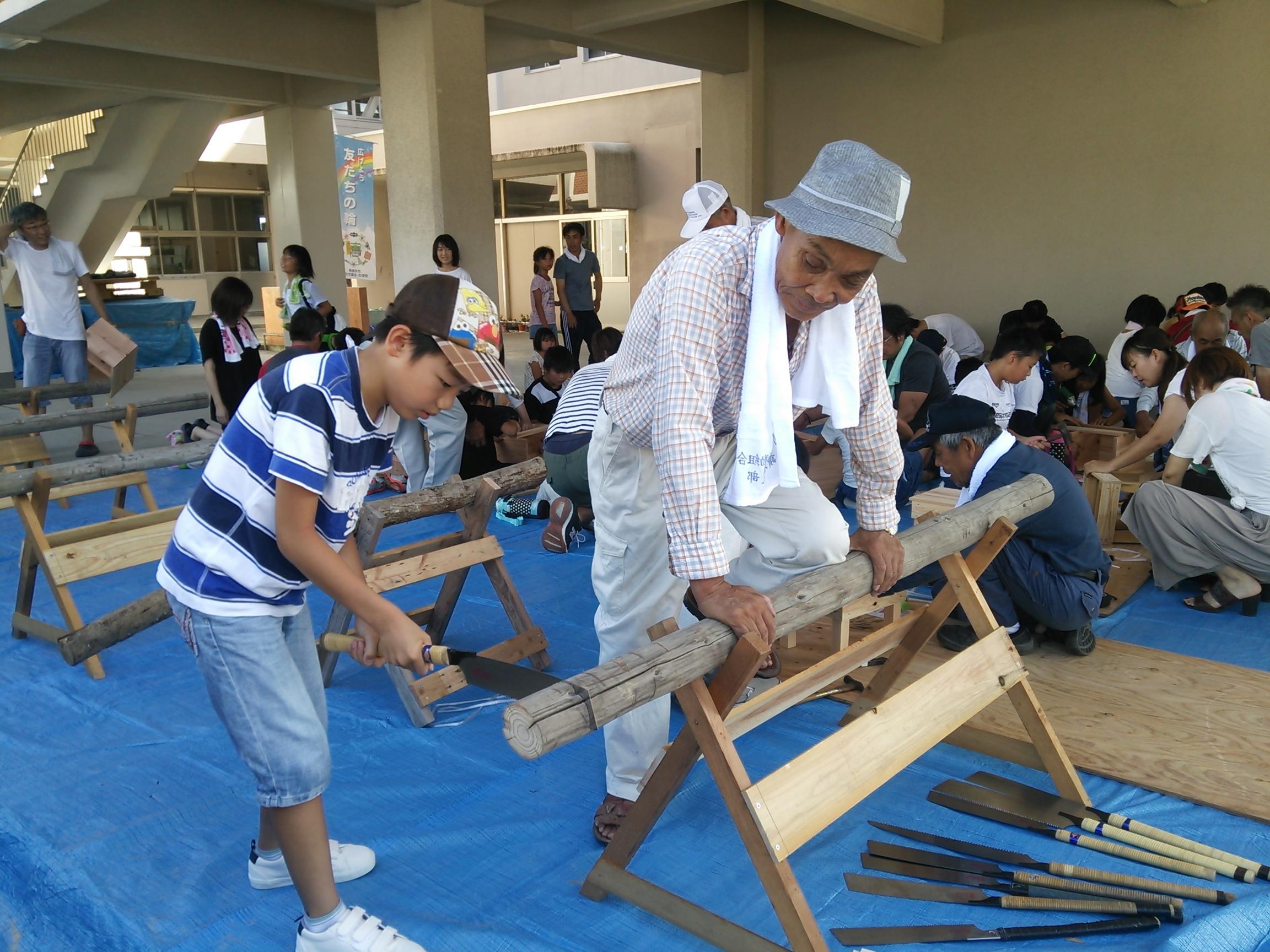木工教室①