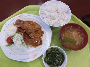 10生姜焼き定食0608