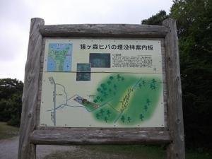170727猿ヶ森埋没林案内板