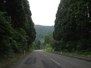 170727山の中の道
