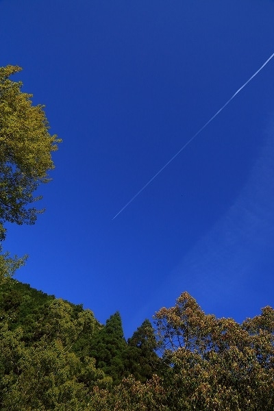 飛行機雲 170419 02
