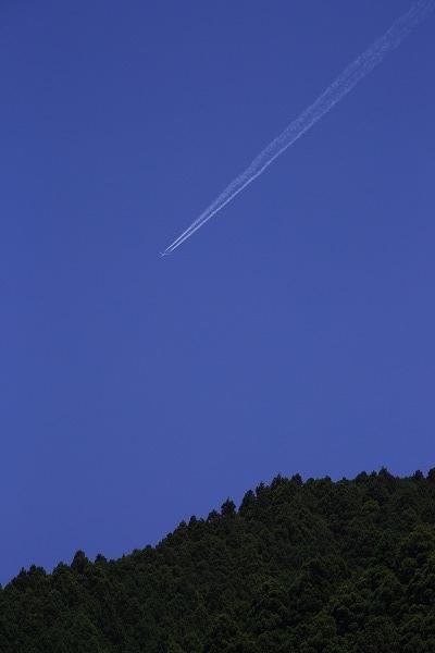 飛行機雲 170514 02