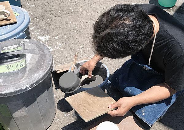 2017_5梨釉めし茶碗2