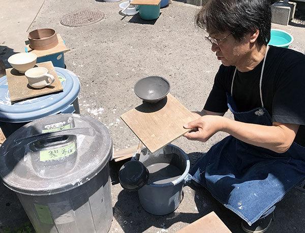 2017_5梨釉めし茶碗3