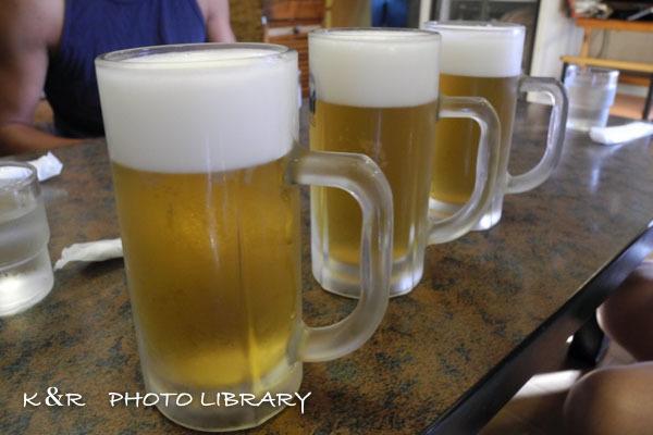 2016年8月6日八幡野3ビール2