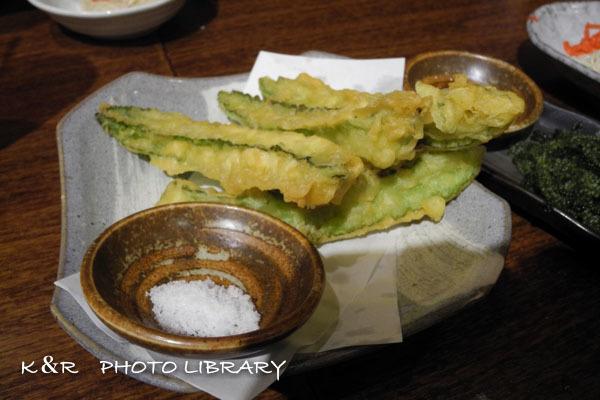 2016年9月8日沖縄時間6海うりずん豆の天ぷら