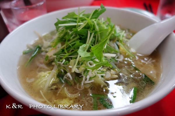 2016年9月17日紅龍6野菜タンメン