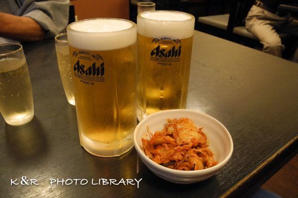 2016年9月22日入船2ビール&お通し
