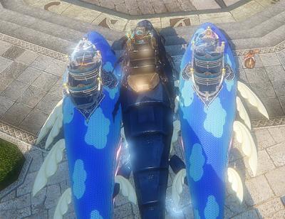 並ぶクジラ