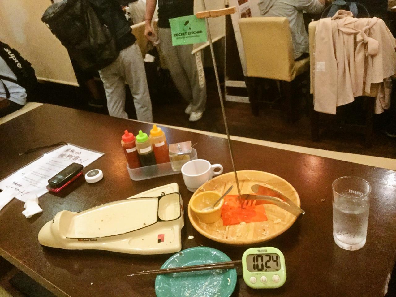ロケットキッチン六会日大前(チャレンジメニュー)