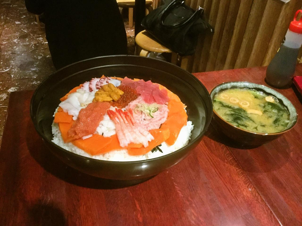 若狭家上野店(びっくり丼)