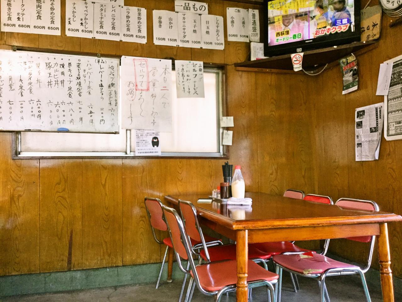 山加食堂(店内)