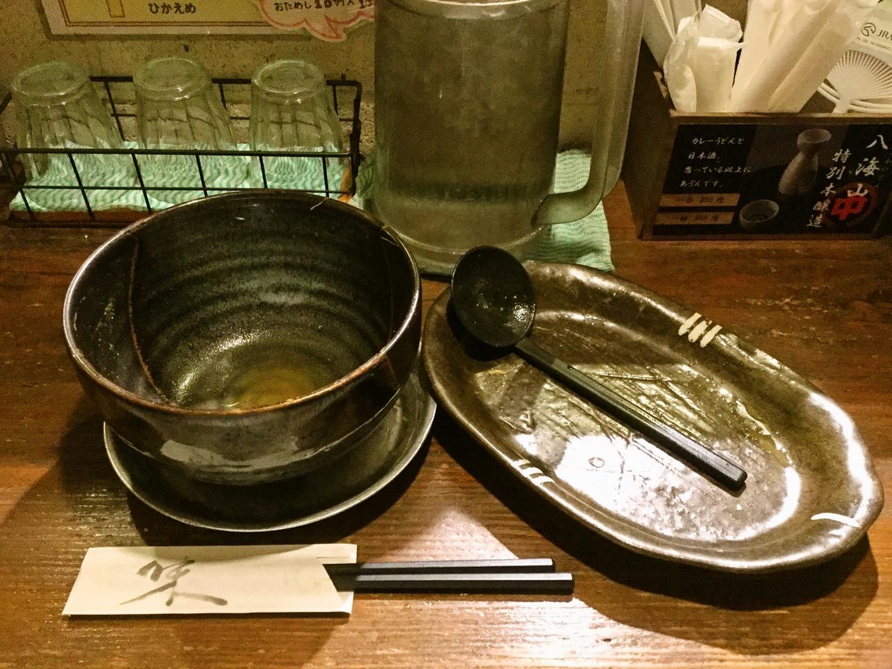 中川屋カレーうどん 駒沢大学店(バカ盛りもやしキャベツカレーうどん)
