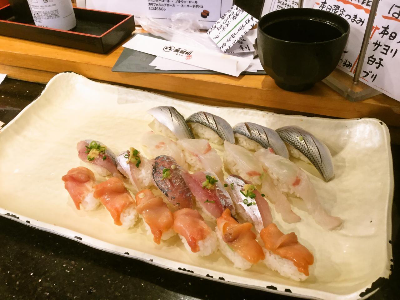 梅丘 寿司の美登利 梅丘本店(食べ放題)