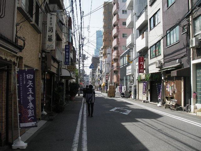 四天王寺前夕陽ヶ丘駅前201704