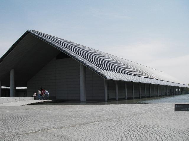 佐川美術館入館時201704