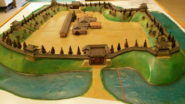 宇都宮城模型