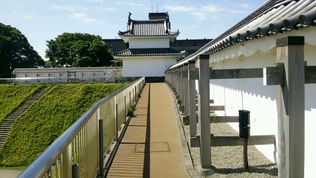 宇都宮富士見櫓裏
