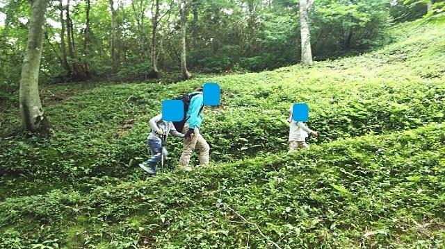 170726 岡山県立森林公園 yamap① ブログ用目隠し