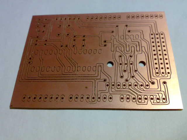切削基板ArduinoMEGAシールド