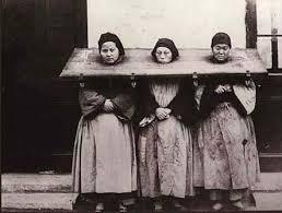 韓国 奴隷碑