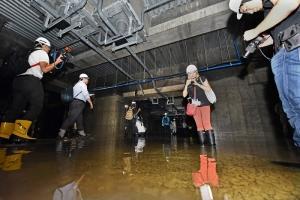 豊洲 地下ピットの水
