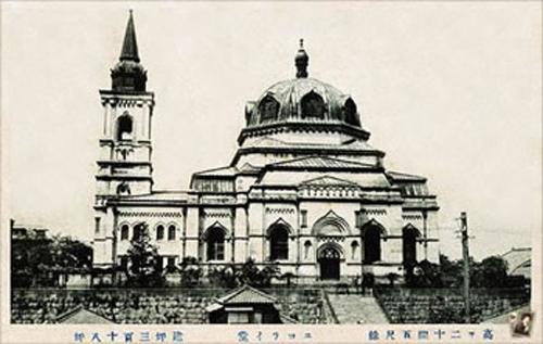 竣工当時のニコライ堂
