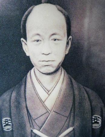 小栗上野介の像