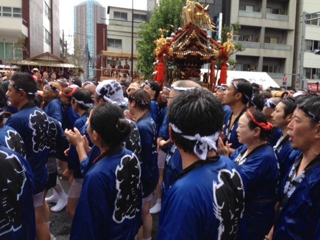冨岡八幡宮の祭 神輿1