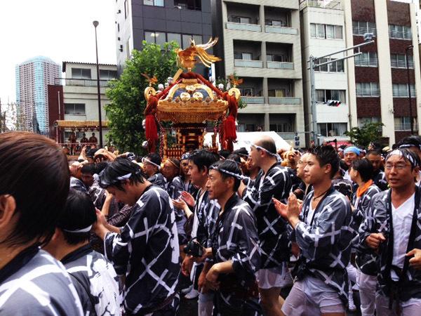 冨岡八幡宮の祭 神輿2
