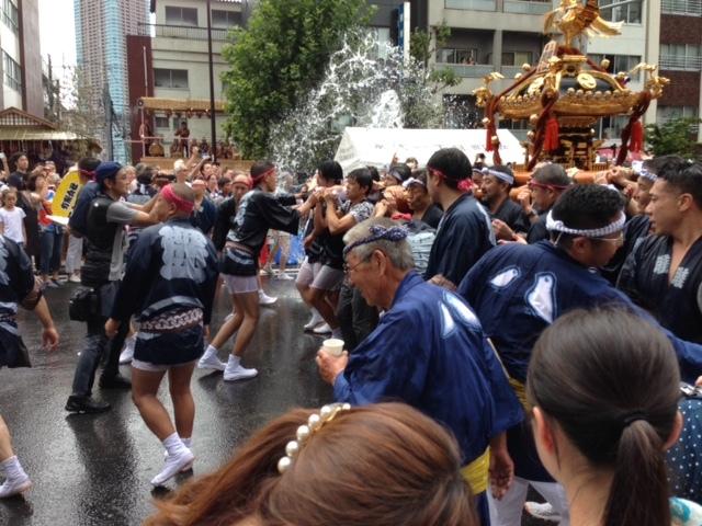 冨岡八幡宮の祭 神輿3