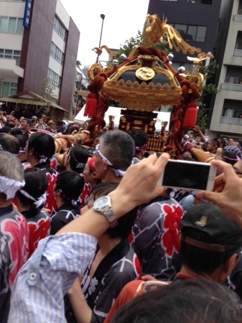 冨岡八幡宮の祭 神輿4