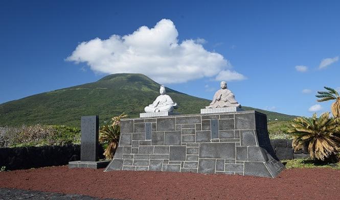 image八丈島の像
