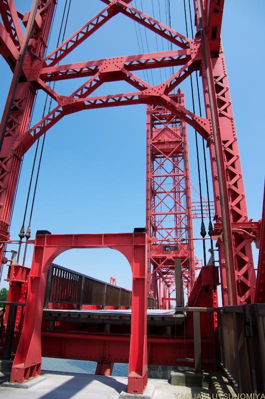 可動橋の橋桁
