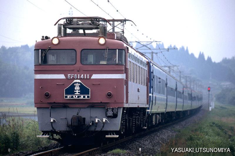 上り富士・EF81-400