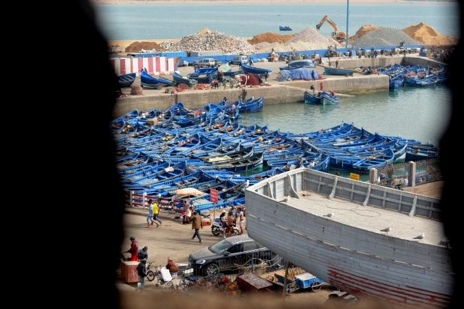 9港の漁船