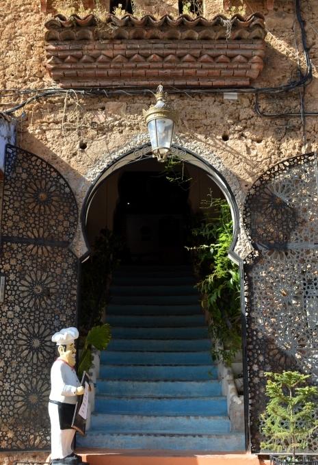 レストラン階段