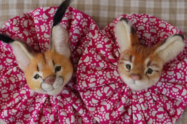 2017猫のお店ブローチー3