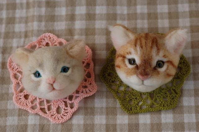 2017猫のお店ブローチー2
