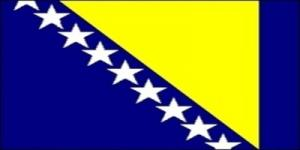 国旗:ボスニア・ヘルツェゴビナ