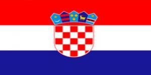 国旗:クロアチア