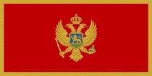 国旗:モンテネグロ