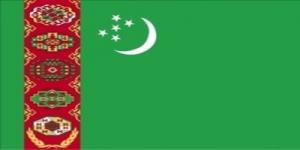国旗:トルクメニスタン
